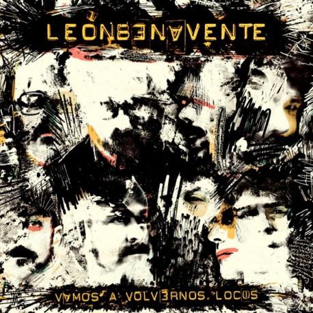 """LEÓN BENAVENTE """"Vamos A Volvernos Locos"""" LP + CD."""