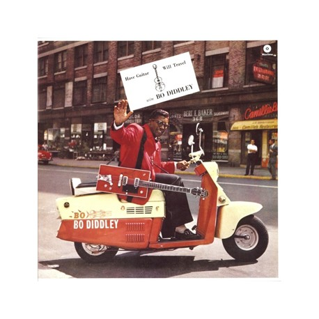 """BO DIDDLEY """"Have Guitar Will Travel"""" LP"""