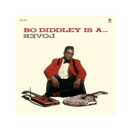 "BO DIDDLEY ""Bo diddley Is A Lover"" LP"