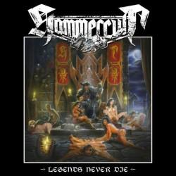 "HAMMERCULT ""Legends Never Die"" LP."