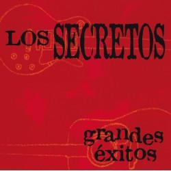"""LOS SECRETOS """"Grandes Exitos"""" 2LP + CD."""