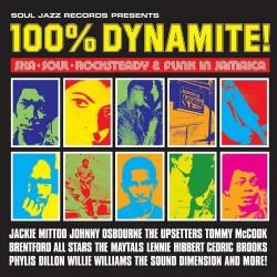 "VV.AA. ""100% Dynamite! Ska, Soul, Rocksteady & Funk In Jamaica"" 2LP."