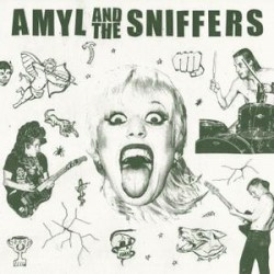 "AMYL AND THE SNIFFERS ""S/t"" LP."