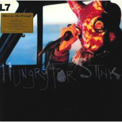 "L7 ""Hungry For Stink"" LP Color."