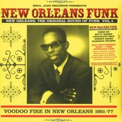 """VV.AA. """"New Orleans Funk Vol.4"""" 2LP."""