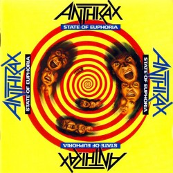 "ANTHRAX ""State Of Euphoria"" CD."