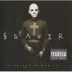 "SLAYER ""Diabolus In Musica"" CD."