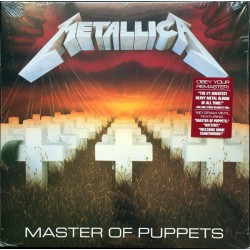 "METALLICA ""Master Of Puppets"" LP 180GR."