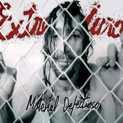 """EXTREMODURO """"Material Defectuoso"""" LP + CD."""