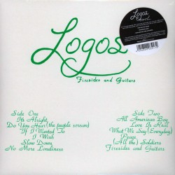 "LOGOS ""Firesides And Guitars"" LP."