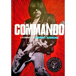 "JOHNNY RAMONE ""Commando"" Libro"