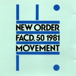 "NEW ORDER ""Movement"" CD."