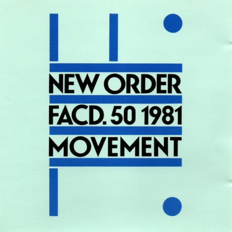 "NEW ORDER ""Movement"" CD."