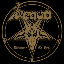 """VENOM """"Welcome To Hell"""" 2LP."""
