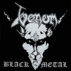 "VENOM ""Black Metal"" CD."