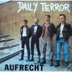 """DAILY TERROR """"Aufrecht"""" LP"""