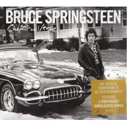 "BRUCE SPRINGSTEEN ""Chapter & Verse"" CD."