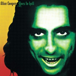 "ALICE COOPER ""Alice Cooper Goes To Hell"" LP Color."