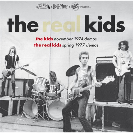 "REAL KIDS / THE KIDS ""Demos 1974 - 1977"" LP."