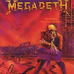 "MEGADETH ""Peace Sells... But Who's Buying?"" LP."