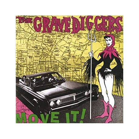 "GRAVEDIGGERS ""Move It!"" LP."