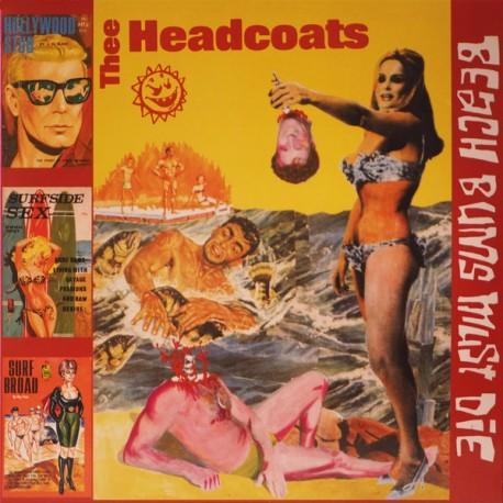 """HEADCOATS """"Beach Bums Must Die"""" LP."""