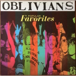 "OBLIVIANS ""Popular Favorities"" LP."