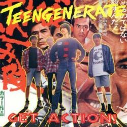 """TEENGENERATE """"Get Action!"""" LP."""