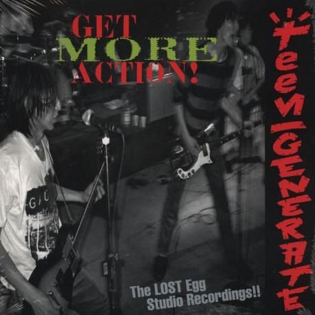 "TEENGENERATE ""Get More Action!"" LP."