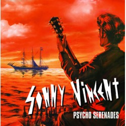 "SONNY VINCENT ""Psycho Serenades"" LP H-Records"