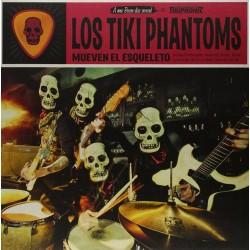 """LOS TIKI PHANTOMS """"Mueven El Esqueleto"""" LP."""
