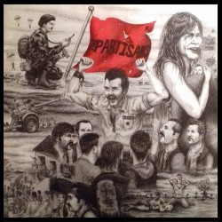 "PARTISANS ""Time Was Right"" LP."