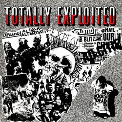 "EXPLOITED ""Totally Exploited"" LP."