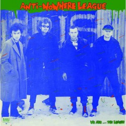 "ANTI-NOWHERE LEAGUE ""We Are... The League"" LP."