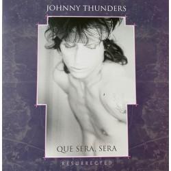 """JOHNNY THUNDERS """"Que Sera, Sera (Resurrected)"""" 2LP Color."""