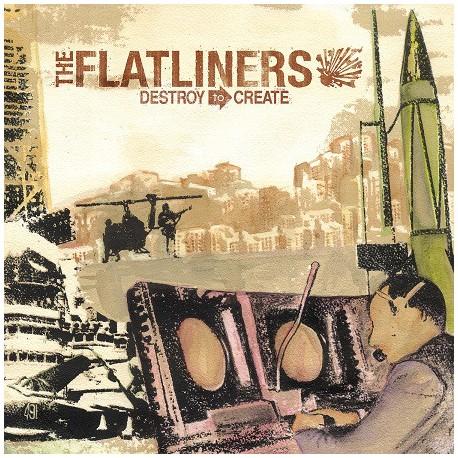 "FLATLINERS ""Destroy To Create"" LP."