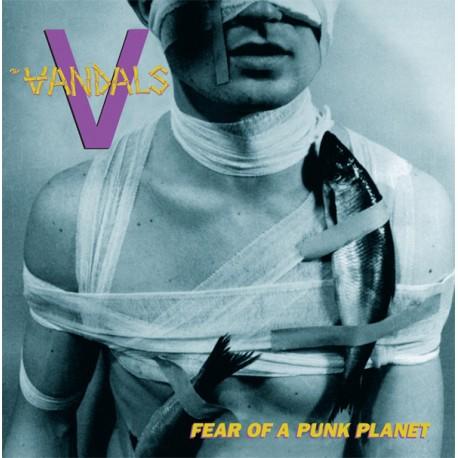"""VANDALS """"Fear Of A Punk Planet"""" LP Color Purple."""