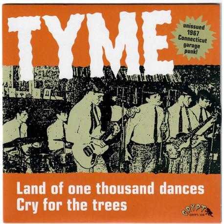 "TYME ""Land Of One Thousand Dances"" SG 7""."