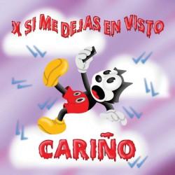 """CARIÑO """"X Si Me Dejas En Visto"""" SG 7"""""""