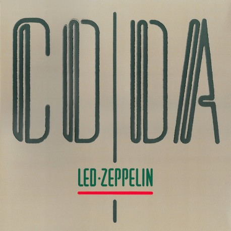 "LED ZEPPELIN ""Coda"" LP."