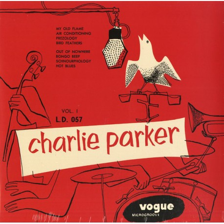 "CHARLIE PARKER ""Charlie Parker Vol.1"" LP Color Red."