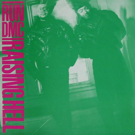 "RUN DMC ""Raising Hell"" LP."