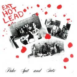 """PUKE SPIT & GUTS """"Eat Hot Lead"""" LP."""