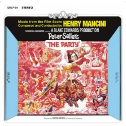 "B.S.O. ""The Party (El Guateque)"" Henry Mancini LP Color."