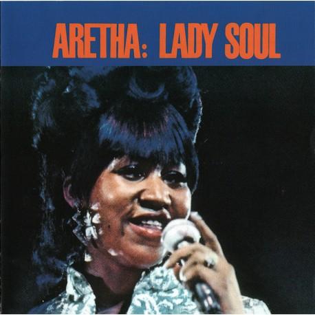 """ARETHA FRANKLIN """"Lady Soul"""" CD."""