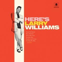 """LARRY WILLIAMS """"Here's Larry Williams"""" LP"""