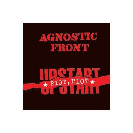 "AGNOSTIC FRONT ""Riot, Riot, Upstart"" LP."