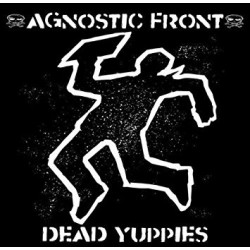 "AGNOSTIC FRONT ""Dead Yuuppies"" LP Color Orange."