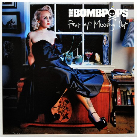 """BOMBPOPS """"Fear Of Missing Out"""" LP."""