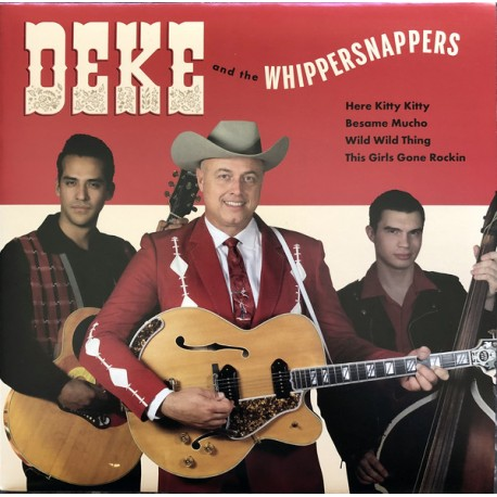 "DEKE AND THE WHIPPERSNAPPERS ""S/t"" SG 7""."